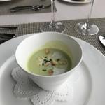 ソラシオ - そら豆の冷たいスープ