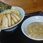 麦天 - 味玉チャーシューつけ麺