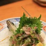 ひょうたん寿司 - 三津の鯵