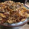 豊野丼 - 料理写真:ほたての切り落としかきあげ天丼玉子のせ 天丼アップ