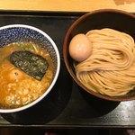 87439247 - 半熟味玉濃厚魚介系つけ麺