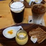 カフェ コパン - 料理写真:ランチデザート