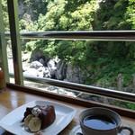 絶景カフェ ぽっぽ - 景色と