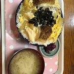 鶴亀 - ビックリかつ丼