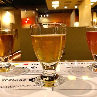 クラフトビールとお肉料理、すごく合います!