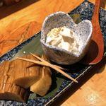 日本酒と肴 あらばしり - いぶりがっこクリームチーズ