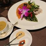 エンプレスルーム - 前菜3種類盛り