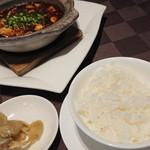 エンプレスルーム - マーボー豆腐 土鍋仕立て