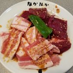 なかなか - 料理写真:豚バラ と しんぞう