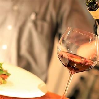 料理とワイン・クラフトビール・日本酒の全てを使ったペアリング