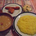 サンローズ インドレストラン&バー - ディナーセット(スープカレー \1380)