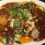 四川料理 芙蓉麻婆麺 - よだれ鶏(*´ω`*)