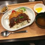 87452267 - 根室名物エスカロップ定食 780円