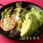 イタリア料理ゴローゾテツ - 季節の野菜をふんだんに使った料理