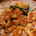 辛くり - 豚キムチチゲ(二人前)