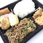 新京 - 料理写真:炒肉絲定食 900yen