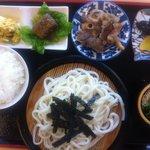 麺処 十 - ざるうどん定食