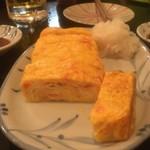 居酒屋 おかげさま - 上品な紅生姜玉子焼き
