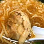 ◯平ラーメン - 鶏チャーシュー