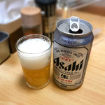 ◯平ラーメン - ある日のビール
