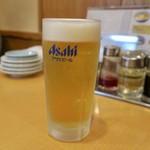 元祖ニュータンタンメン本舗 - 生ビール(期間限定550円→350円)