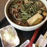 板そば なみ喜 - 料理写真:山菜そば 880円