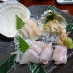 瑠玖&魚平 - 刺身3点盛