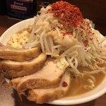 麺屋 づかちゃん - ラーメン豚2枚増し 1000円