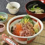 徳造丸 魚庵 - 海女丼(数量限定)