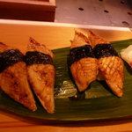 ひょうたん寿司 - 追加の焼きアナゴ。ひょうたん寿司の売りにぎり