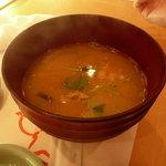 ひょうたん寿司 - 魚のアラのみそ汁