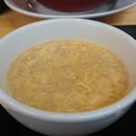 87471144 - 玉子スープ。