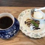 喫茶 千秀 - 料理写真:ケーキセット 600円