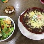 キッチン 新葉 - 焼きカレー(¥900)