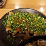 青源 - ネギ味噌焼き餃子