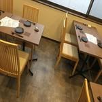 小料理 桝水 - テーブル3席 最大12名