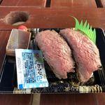 ウエムラ - 白老牛ステーキ寿司