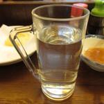 大ざわ地下西店 - 芋焼酎 お湯割り 350円 (2018.6)