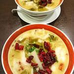 王府井レストラン - 酸辣魚麺(メニューには載っていない)