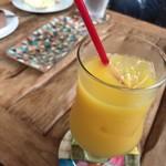 イトウヤカフェ - 『オレンジジュース』400円