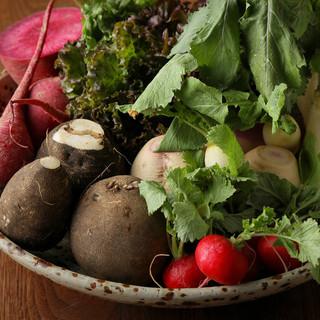 京都人がつくる長野の美味しい旬菜がズラリ