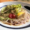 げんき食堂 WAKU家 - 料理写真:鶏サラダ稲庭うどん(夏季ランチ)