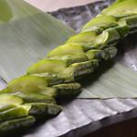 胡瓜のピリ辛1本漬け