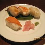Kyoutokitayamadainingu - お寿司(美味しかった)