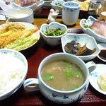 ともえ旅館 - 料理写真:夕食