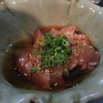 鳥蔵 - 「大王のレバ刺し」(¥500)
