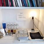 寺崎コーヒー - シロップやお水、ストローなど