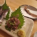 久松 - 梅雨イワシスペシャル 揚げ骨付き ¥500