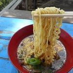 景信山頂上 景信茶屋 青木 - 麺リフトアップ