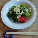 鳥勝+サルーテ - 料理写真: